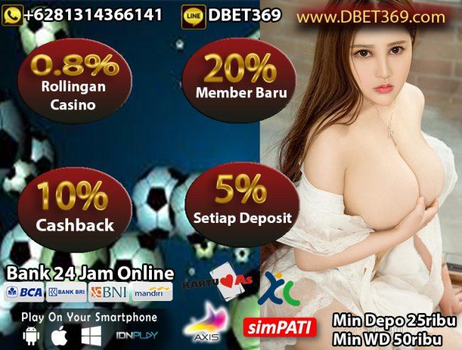 DBET369 Situs Bola Dan Casino Bank BNI Online 24 Jam