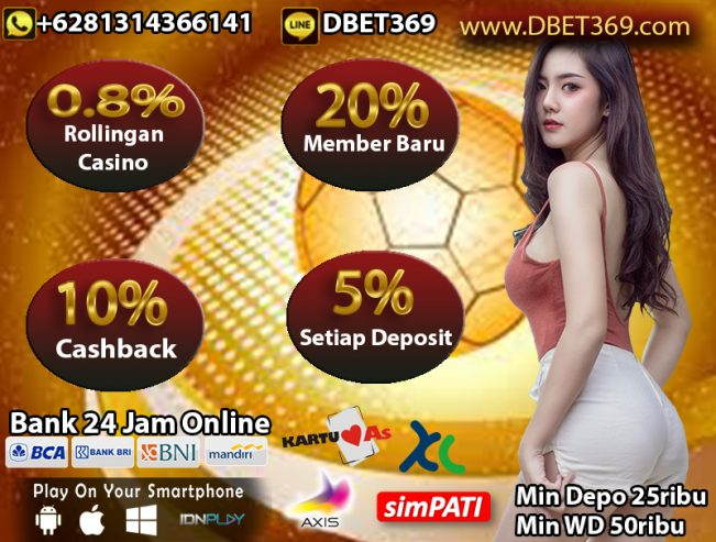 DBET369 Situs Bola Online 24 Jam Terbaik Se Indonesia