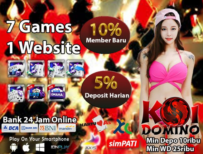 Situs Poker Online Bank Mandiri 24 jam Nonstop
