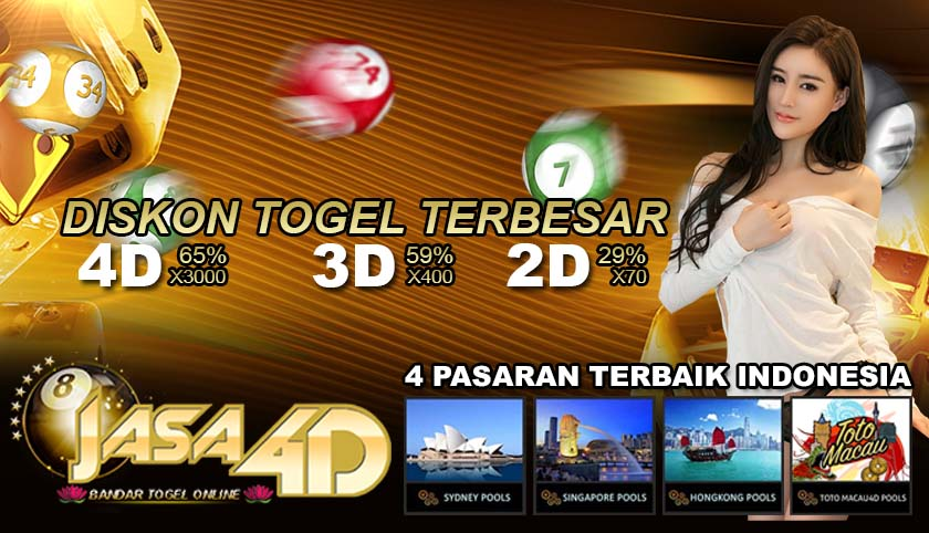 Jasa4D Bandar Togel Terpercaya Online 24 Jam